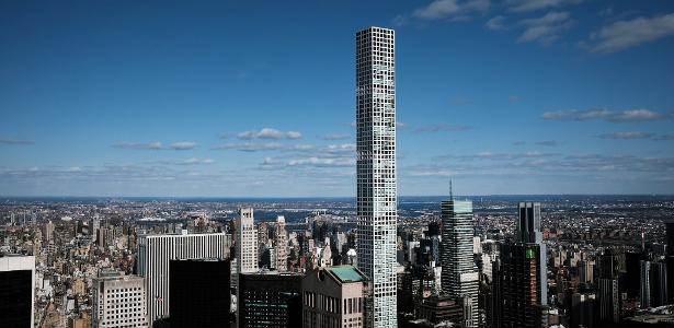 The skyscrapers that tossed NY's super-rich have a luxurious interior;  Look
