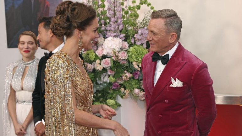 Kate steals the show from Daniel Craig