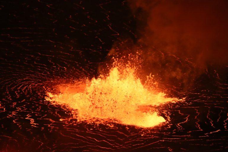 Kilauea volcano erupts again in Hawaii