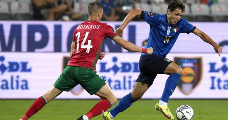2022 World Qualifiers: Italy lose point against Bulgaria - rts.ch