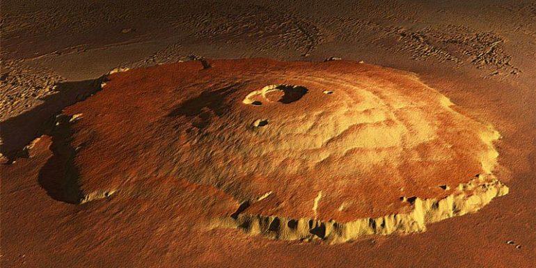 मंगल ग्रह पर मिला 500 मिलियन साल पुराना ज्वालामुखी, मिल सकते हैं जीवन के सबूत
