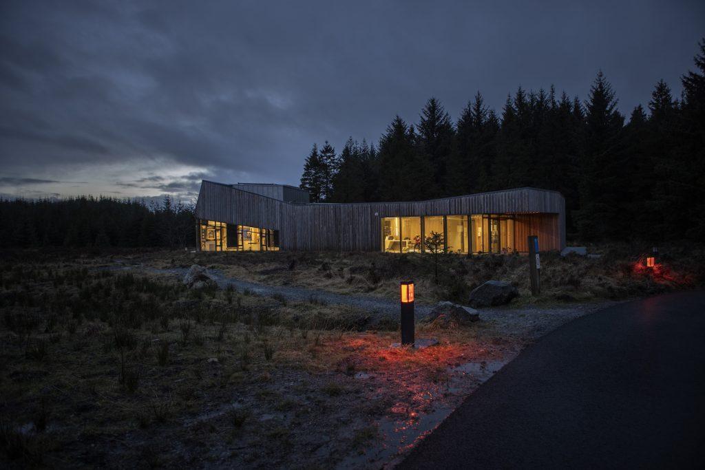 Dark Sky Park Observatory.  Photo: Donal Moloney.  Via Ireland Tourism.