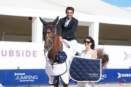 Abdel Saïd, tout sourire après sa victoire avec Bandit Savoie, sous ses nouvelles couleurs