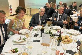Celtic dinner returns around the President of Brittany - Brittany Region