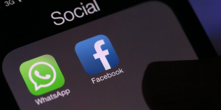 Facebook, which is why Ireland fined WhatsApp