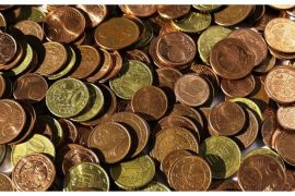 Ireland pays his final salary in 7,100 five cent coins