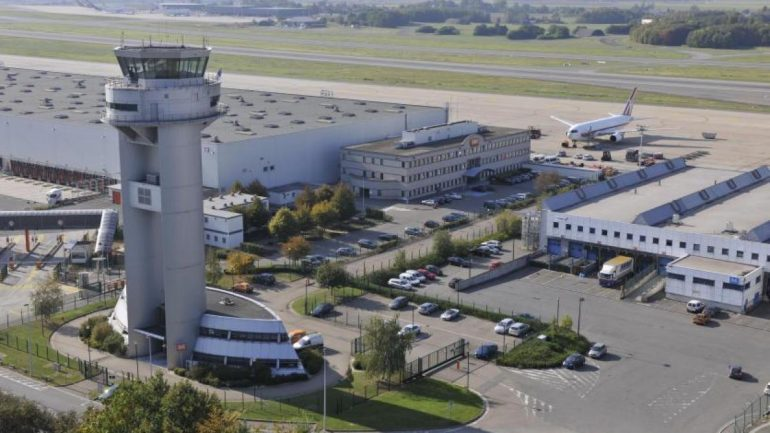 Leakage of a chemical at Liege Airport