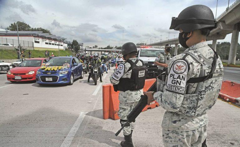 Inicia limpia de Guardia Nacional en carretera
