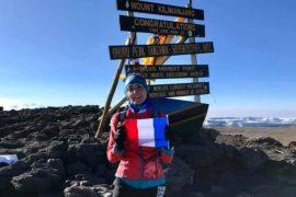 New women's speed record in Kilimanjaro for Vanessa Morales
