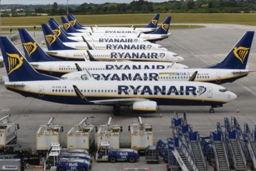 Ryanair hires: 5,000 new employees over the next five years