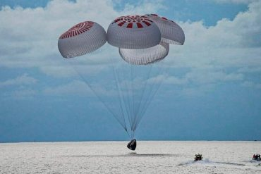Space is no longer a recreation center;  Birth History, Space X Travelers Return    SpaceX Capsule With 1st All-Civilian Orbital Crew Splashes Down Off Florida