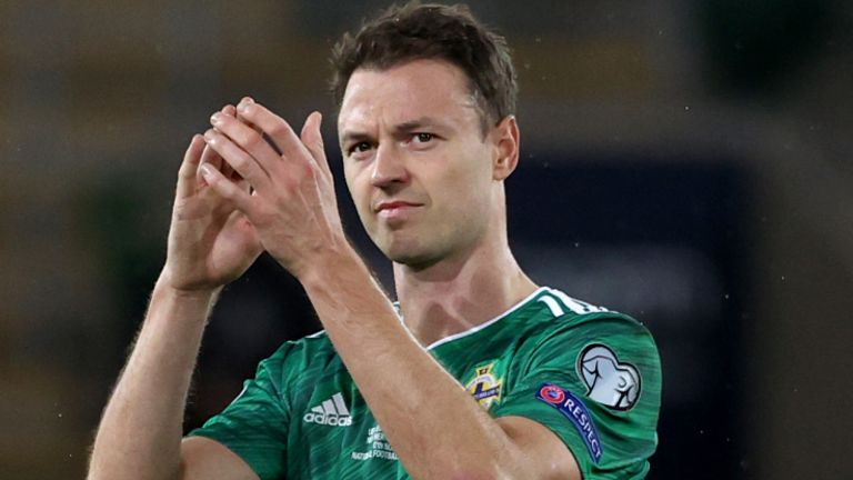 Stuart Dallas out of Lithuania for Northern Ireland World Cup qualifiers for personal reasons    Football news