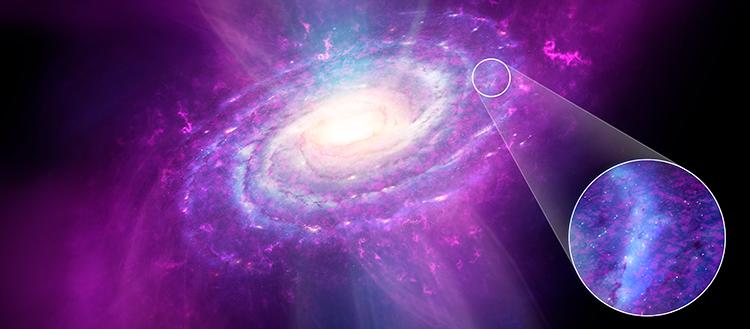 Surprise: The Milky Way is not uniform    Uranium