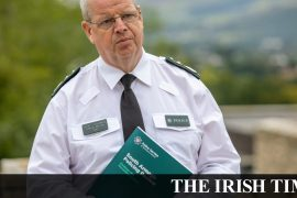 The PSNI leader is under increasing pressure from unionist politicians