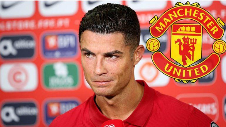 Steht vor seinem Comeback für Manchester United in der Premier League: Cristiano Ronaldo.