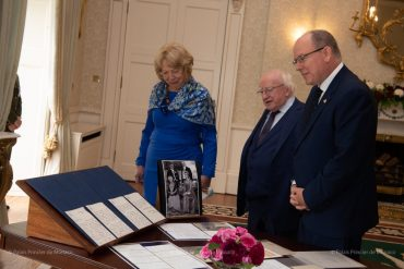 Visit of Prince Albert II to Dublin - Pages Monaco
