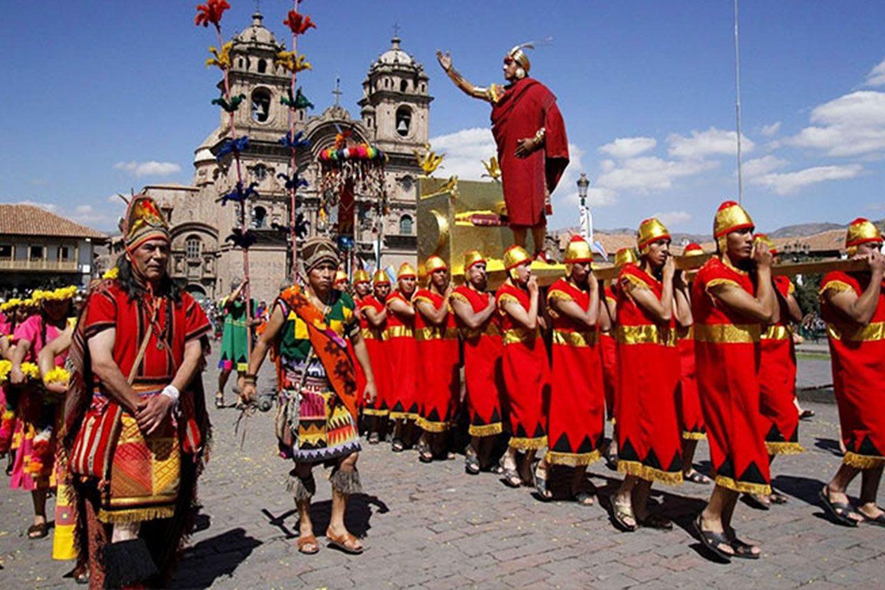 How is the Inti Raimi Party celebrated in Cusco?  - Peru Grand Travel