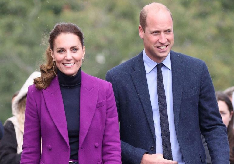 Kate Middleton shines in the purple suit she should have had this fall