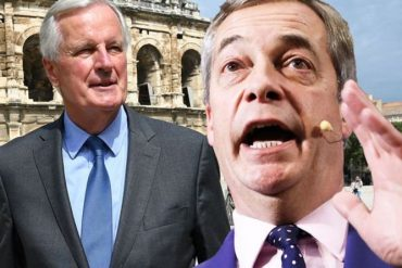 "Brexit news: ""Michelle Barnier wants to destroy the United Kingdom!""  Farage explosions |  Politics"
