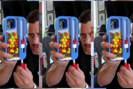 Born an iPhone case with a grave that can throw out candy at any time --GIGAZINE
