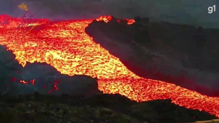 Volcano de la Palma launches 'Tsunami' of lava, compares to volcanic institute |  The world
