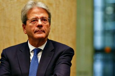 Gentiloni and the general picture of the world economy