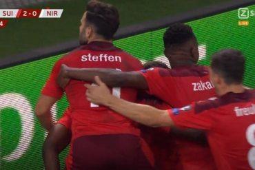 Switzerland put pressure on Italy, beat Northern Ireland 2-0