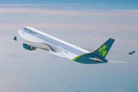Air Lingus launches Atlantic flight from UK