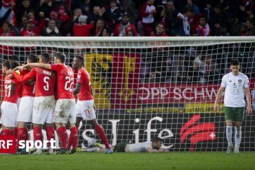 Against Northern Ireland in Geneva - Stade de Geneva, the national team always wins their qualifying games - Sports