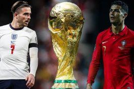Englands Jack Grealish (links) und Portugals Cristiano Ronaldo besitzen gute Chancen, um an der WM 2022 in Katar teilzunehmen.