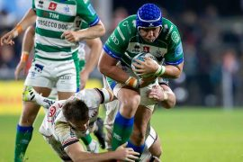 Bennett rugby, Lions try at Kingspan Stadium, but Ulster won 28-8