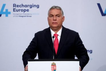 Le premier ministre sortant Viktor Orban.