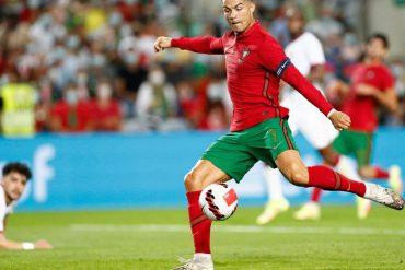Cristiano Ronaldo set two new national records