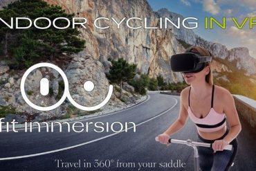 Se plonger dans des décors de montagnes ou de villes grâce à un casque de réalité virtuelle