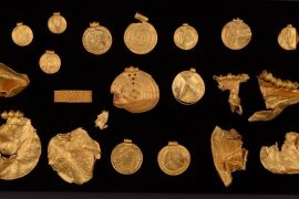 Danish amateur archaeologist finds pre-Viking treasure with about 1 kg of gold