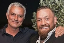 Dinner, whiskey ... Impossible meeting between McGregor and Mourinho