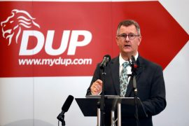 Donaldson tells DUP members he will not give up 'tough decisions' in the coming months