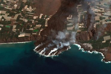 Fajã do Cumbre Vieja already has more than 40 hectares and threatens to collapse