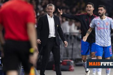 Irish history says CR7 and Bruno Fernandez could not play together