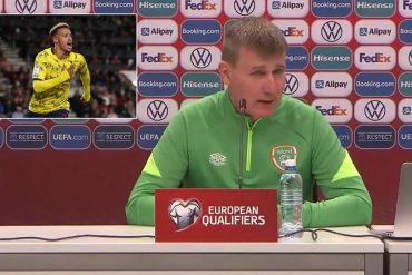 """""""Is he trolling?""""  Irish manager defends 'contagious' star who refused vaccine after being caught twice by Kovid (video)"""