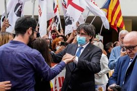 Justice suspends action against Catalan leader Carlos Puigdemont until a European decision is reached