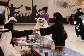 Qataris in the polls for an unprecedented turnout