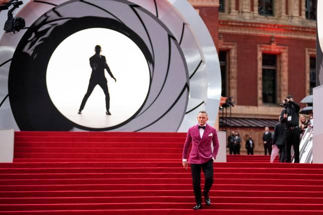 Daniel Craig at the premiere