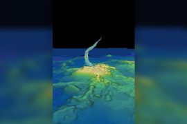 The world's largest underwater volcanic eruption created a skyscraper the size of a skyscraper