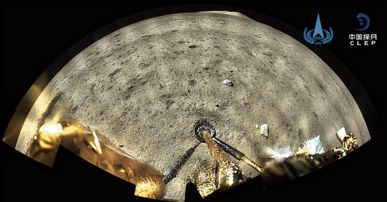 There were volcanoes on the moon two billion years ago