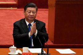 Le président chinois Xi Jinping pendant les commémorations du 110ème anniversaire de la Révolution.